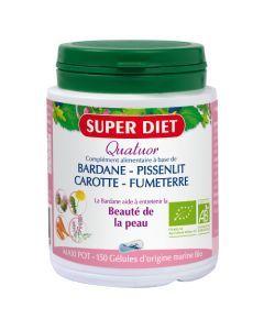 Super Diet Quatuor Bardane Beauté De La Peau Bio - 150 Gélules