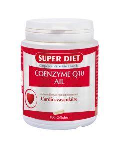 Super Diet Coenzyme Q10 + Ail - 180 Gélules