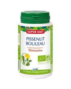 Superdiet Pissenlit - Bouleau Bio - 90 Gélules