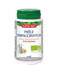 Super Diet Prêle Harpagophytum Bio - 90 Gélules