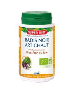Super Diet Radis Noir - Artichaut Bio - 90 Gélules
