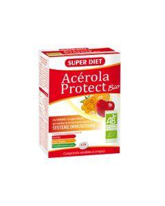 Super Diet Acérola Protect Bio - 24 Comprimés à Croquer