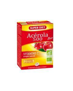 Super Diet Acérola 500 Bio - 24 Comprimés
