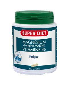 Super Diet Magnésium Marin + Vitamine B6 - 150 Gélules