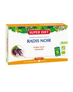 Super Diet Radis Noir Bio - 20 Ampoules de 15Ml