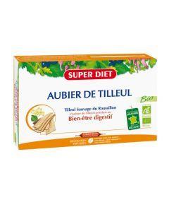 Super Diet Aubier De Tilleul Bio - 20 Ampoules de 15Ml