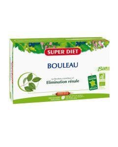 Super Diet Bouleau Bio - 20 Ampoules de 15Ml