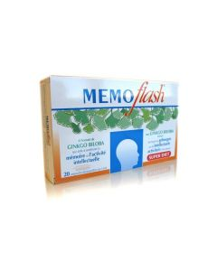 Super Diet Memoflash Mémoire et Concentration 20 Ampoules