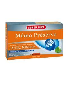 Super Diet Memo Préserve - 20 Ampoules de 15Ml