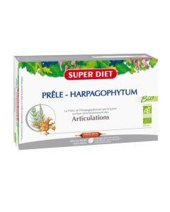 Super Diet Prêle - Harpagophytum Bio - 20 Ampoules de 15Ml