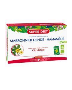 Super Diet Marronnier D'Inde - Hamamélis Bio - 20 Ampoules de 15Ml