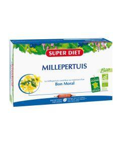 Super Diet Millepertuis Bio - 20 Ampoules de 15Ml