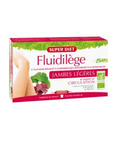 Super Diet Fluidilege Bio - 20 Ampoules de 15Ml