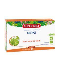 Super Diet Noni Bio - 20 Ampoules de 15Ml