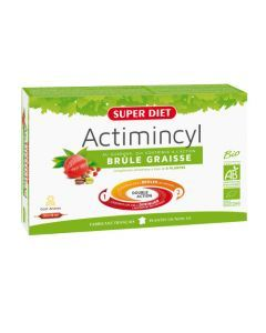 Super Diet Actimincyl Bio - 20 Ampoules de 15Ml
