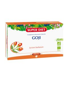 Super Diet Goji Bio - 20 Ampoules de 15Ml