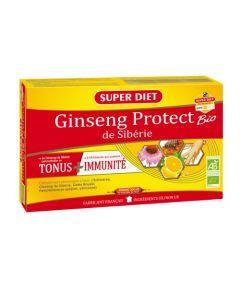 Super Diet Ginseng Protect Bio - 20 Ampoules de 15Ml