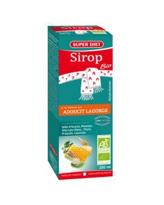 Super Diet Sirop Plantain Adoucissant Bio - Flacon De 200Ml