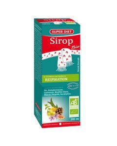 Super Diet Sirop Mauve Respiration Bio - Flacon De 200Ml