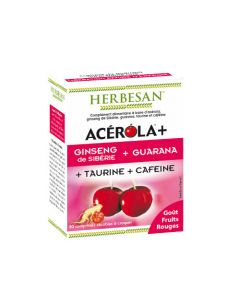 Herbesan Acérola Boost - 30 Comprimés à Croquer