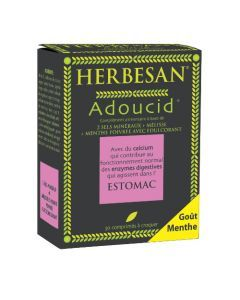 Herbesan Adoucid Menthe - 30 Comprimés