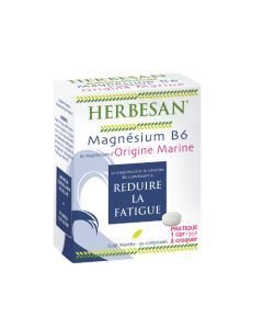 Herbesan Magnésium Marin + Vit. B6 - 30 Comprimés à Croquer