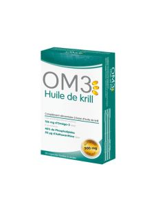 OM3 Huile De Krill - 30 Capsules
