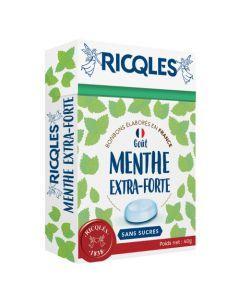 Ricqlès Sucres Cuits Menthe Extra Forte Sans Sucres 40g