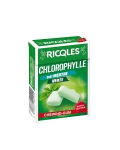 Ricqles Chlorophylle Chewing Gum Sans Sucre - Etui De 29G