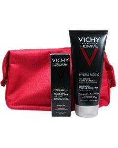 Vichy Coffret Homme Hydra Mag + et Gel Douche Hydra Mag
