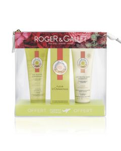 Roger & Gallet Fleur d'Osmanthus Trousse Summer-To-Go