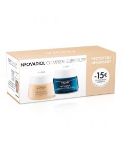 Vichy Protocole Crème Jour Néovadiol Complexe Substitif 50ml + Crème Nuit 50ml