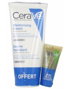 CeraVe Baume Hydratant 177 ml + Huile Lavante Moussante Hydratante 15 ml Offerte