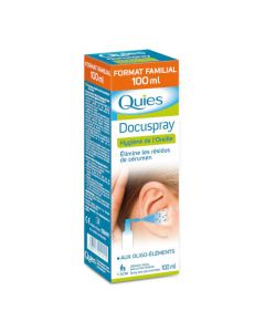 Quies Docuspray Spray Auriculaire 100ml