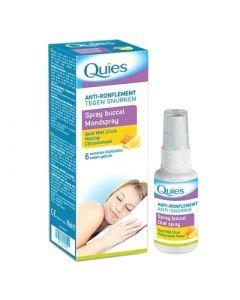 Quies Spray Buccal Anti-ronflement Gout Miel Citron 70ml
