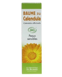 Saint Benoit Baume au Calendula Bio Peaux Sensibles 40g