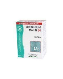 Biotechnie Magnésium Marin B6 Format Économique 100 Gélules