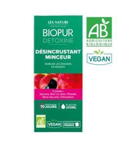 Biopur Détoxine Cocktail Détox Désincrustant Minceur 200ml