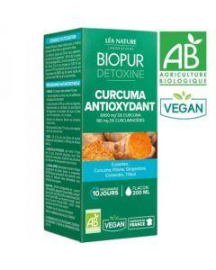 Biopur Détoxine Cocktail Antioxydant Curcuma 200ml