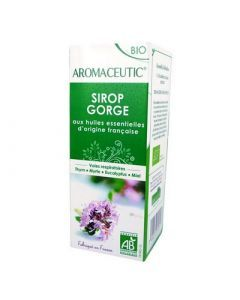 Aromaceutic Sirop Gorge Bio 100ml