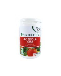 PHYTOCEUTIC Acérola 1000mg Bio 28 Comprimés