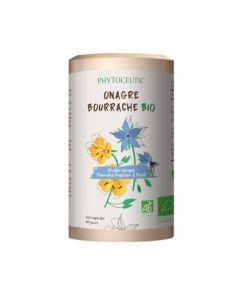 Phytoceutic Huile Onagre Bourrache Bio 120 Capsules