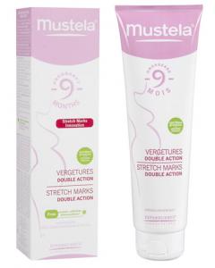 Mustea 9 Mois Crème Vergetures Double Action 150ml