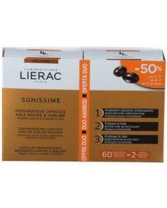 Lierac Sunissime Préparateur Capsules Hâle Rapide&Sublime 2x30cps