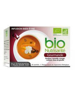 Nutrisante Infusion Bio Gourmande 20 Sachets