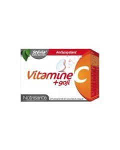 Nutrisanté Vitamine C + Goji 24 Comprimés
