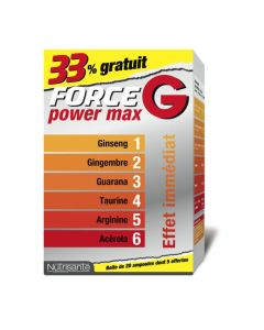 Nutrisanté Force G Power Max 15+5 Ampoules