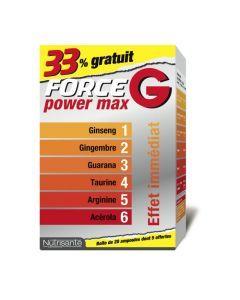 Nutrisanté Force G Power Max 15+5 Ampoules