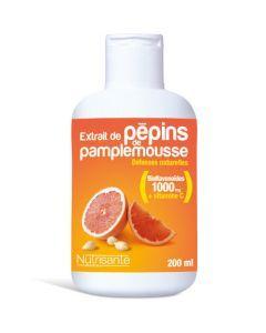 Nutrisanté Extrait De Pepins De Pamplemousse Flacon 200ml