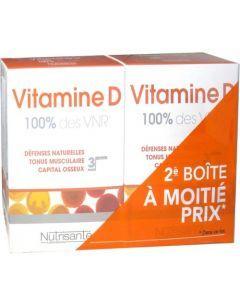 Nutrisanté Vitamine D 2x90 Comprimés
